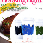 cozy/cuff featured in this month's Cooking Light magazine