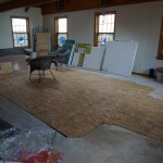 we have a floor!