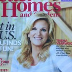 Trisha Yearwood wearing Megan Auman earrings on the July cover of Better Homes and Gardens