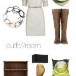 outfit//room – Reflections scarf//pillow
