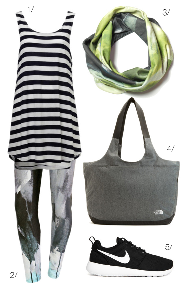 casual and sporty featuring december grey leggings by megan auman