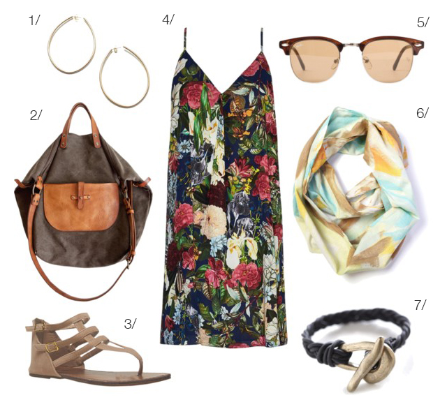 easy summer style via megan auman - click for outfit details