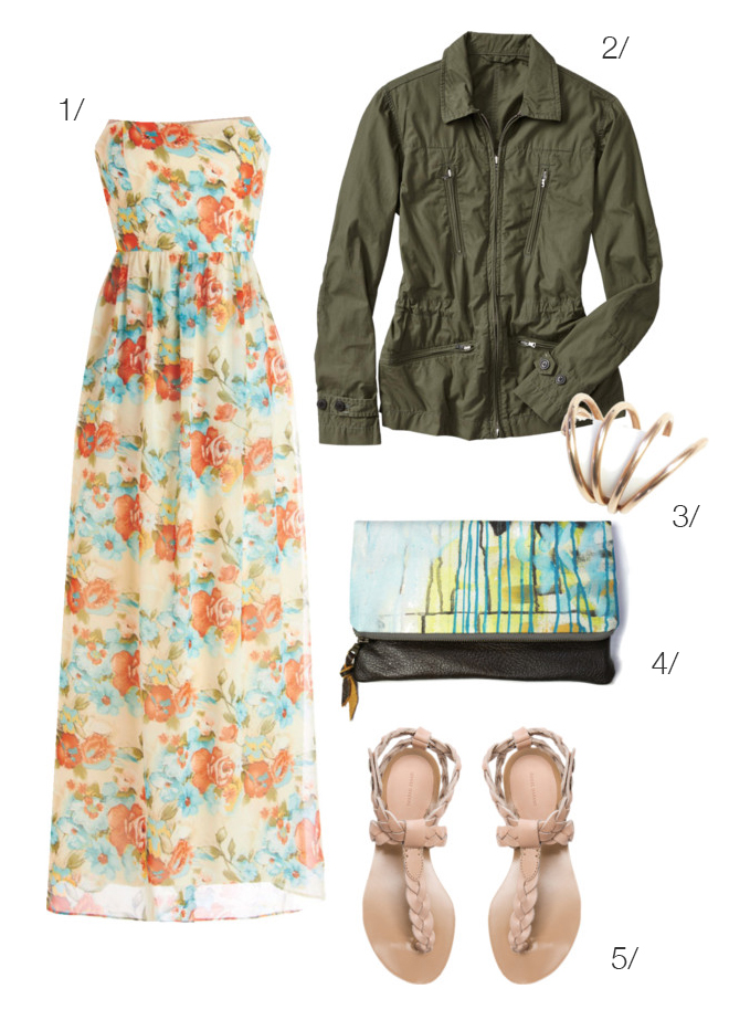 floral meets military via megan auman