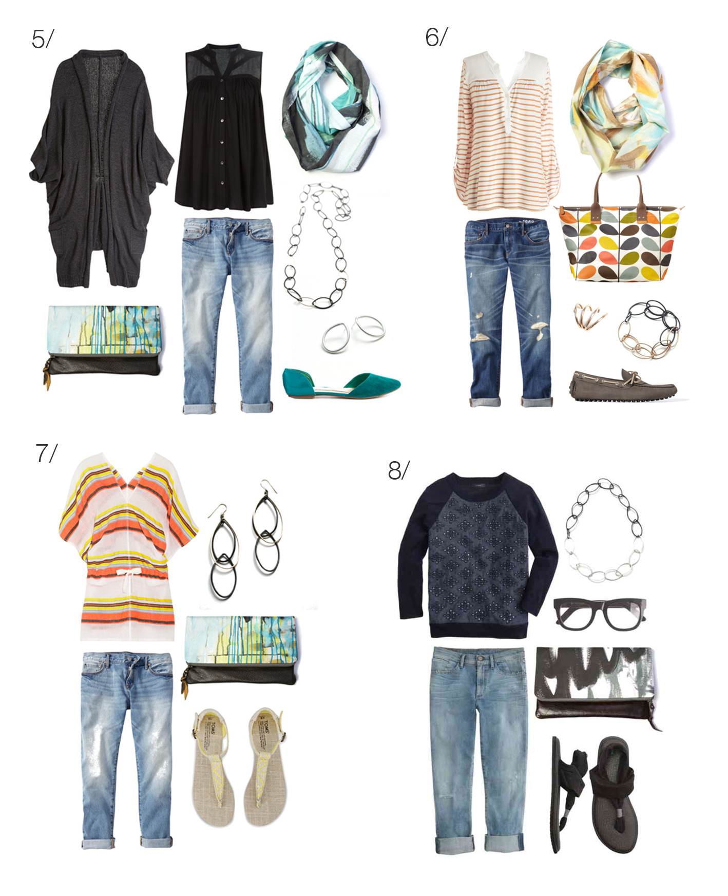 what to wear with boyfriend jeans - 8 ways to style your boyfriend jeans