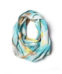 corsica lightweight cotton scarf by megan auman