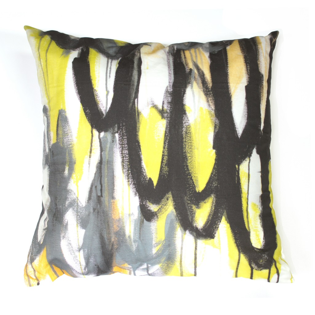 Wings Pillow by megan auman - as seen in Elle Decor
