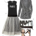 street style inspired: paris in black and grey
