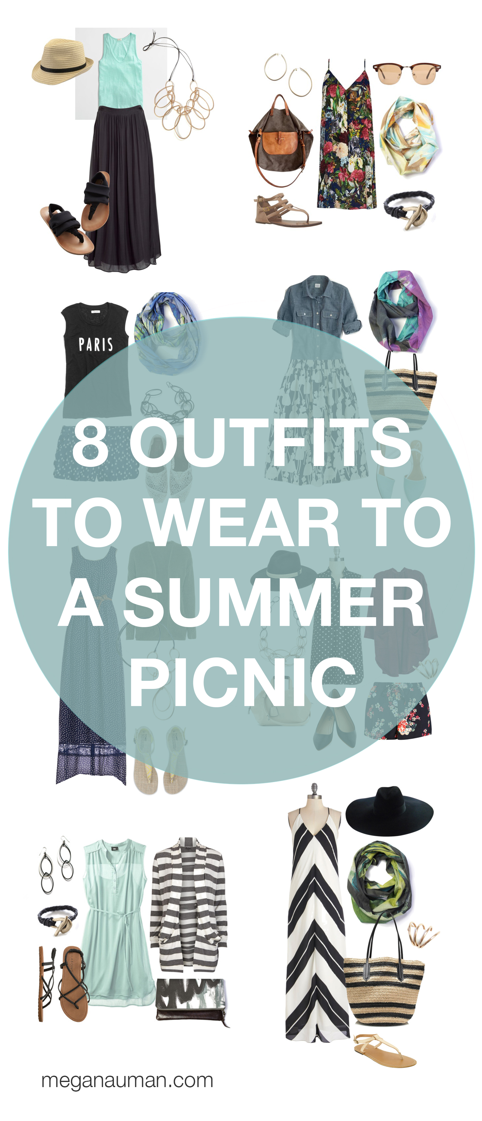 summer style: 8 outfits to wear to a picnic or barbecue