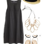 the perfect little black dress for summer