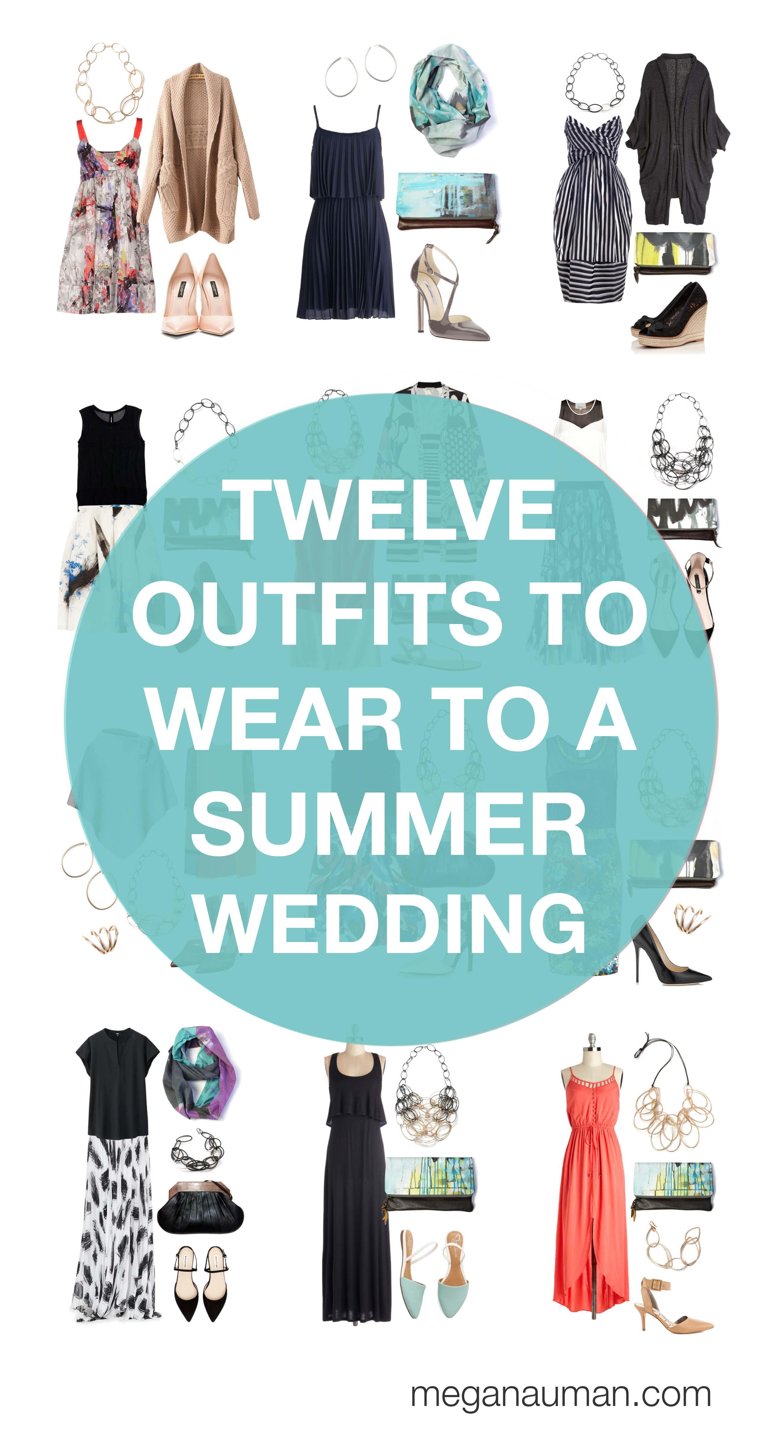 what to wear to a summer wedding: 12 outfit ideas to try - MEGAN AUMAN