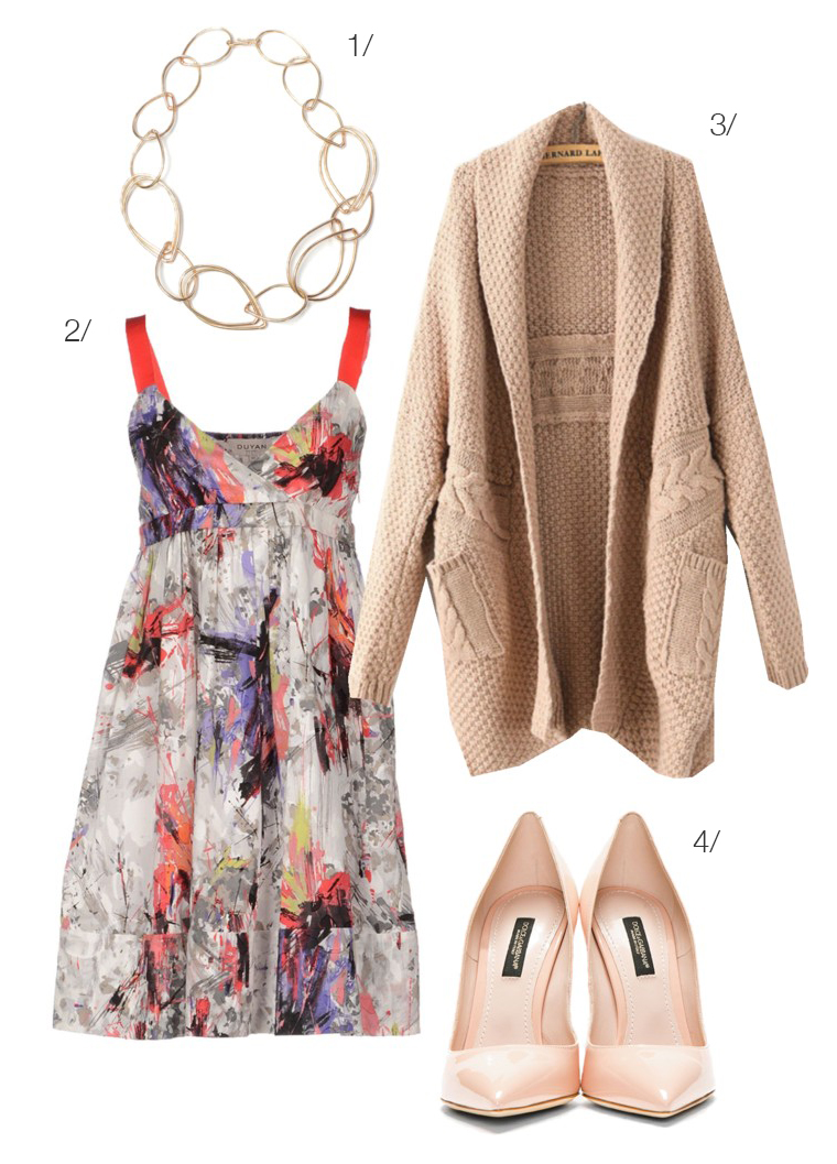 the perfect outfit to wear to graduation, a bridal shower, wedding, or baby shower // via megan auman