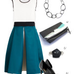 how to wear a bold skirt