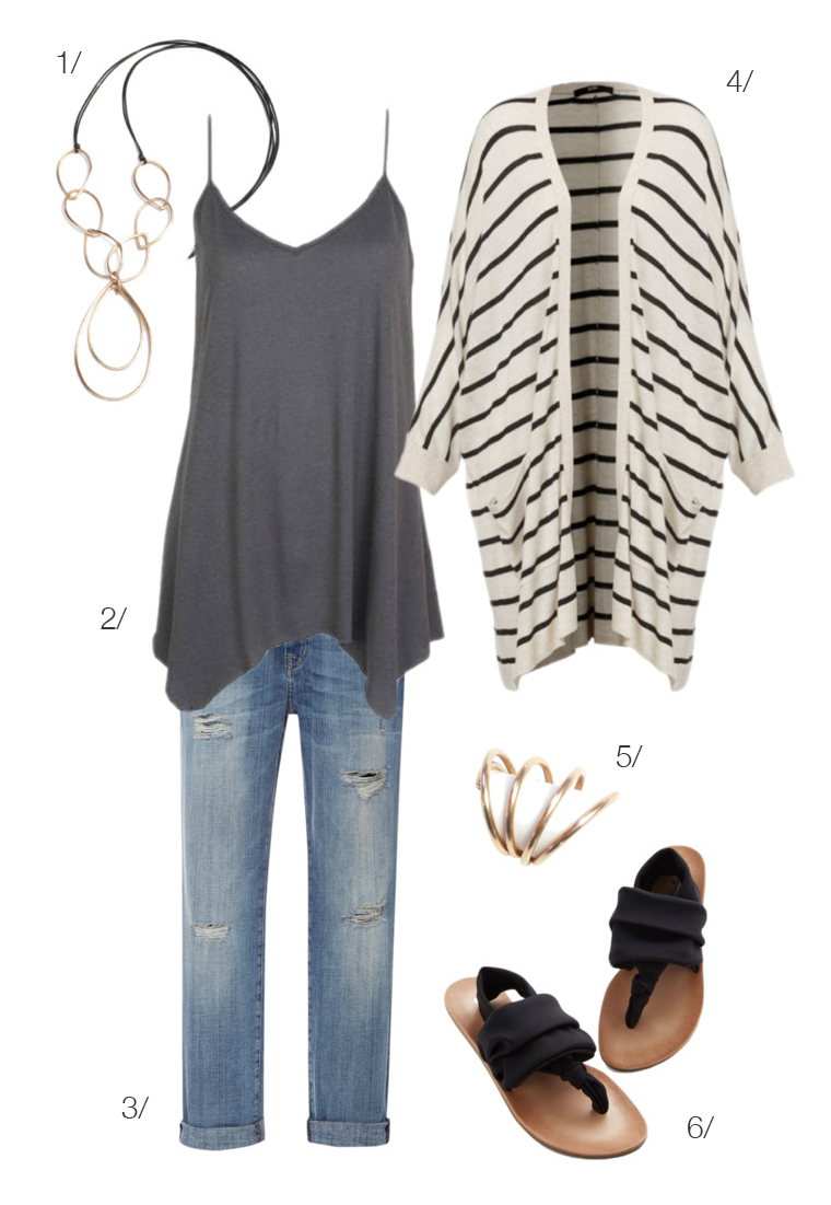 easy casual style // click for outfit details