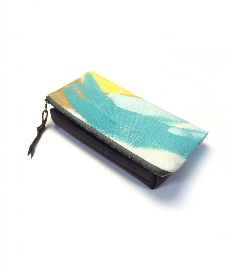 corsica foldover clutch purse // a collaboration between eclu and megan auman