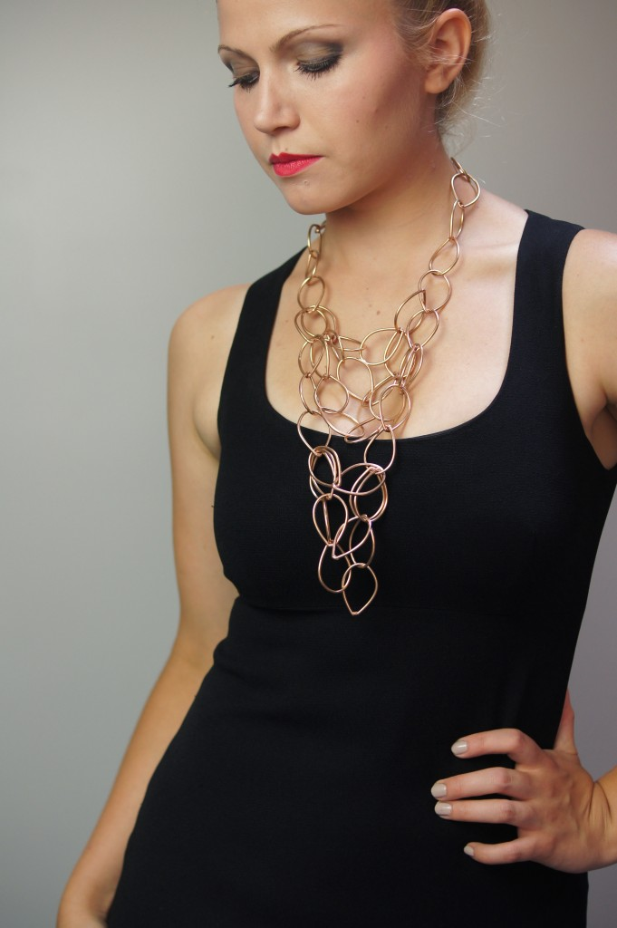Victoria statement necklace by megan auman