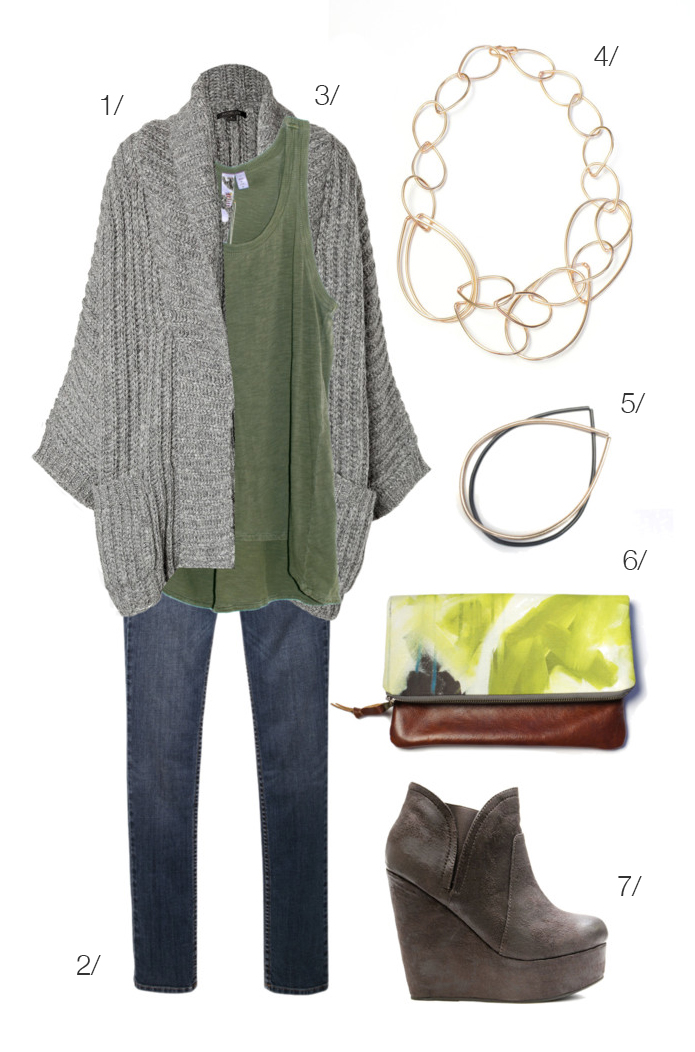 cozy but chic casual fall style