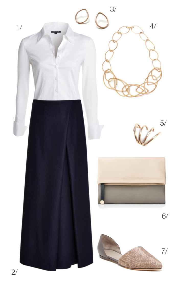 chic and sophisticated look inspired by Emma Watson // click for outfit details