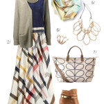 how to wear a maxi skirt in fall