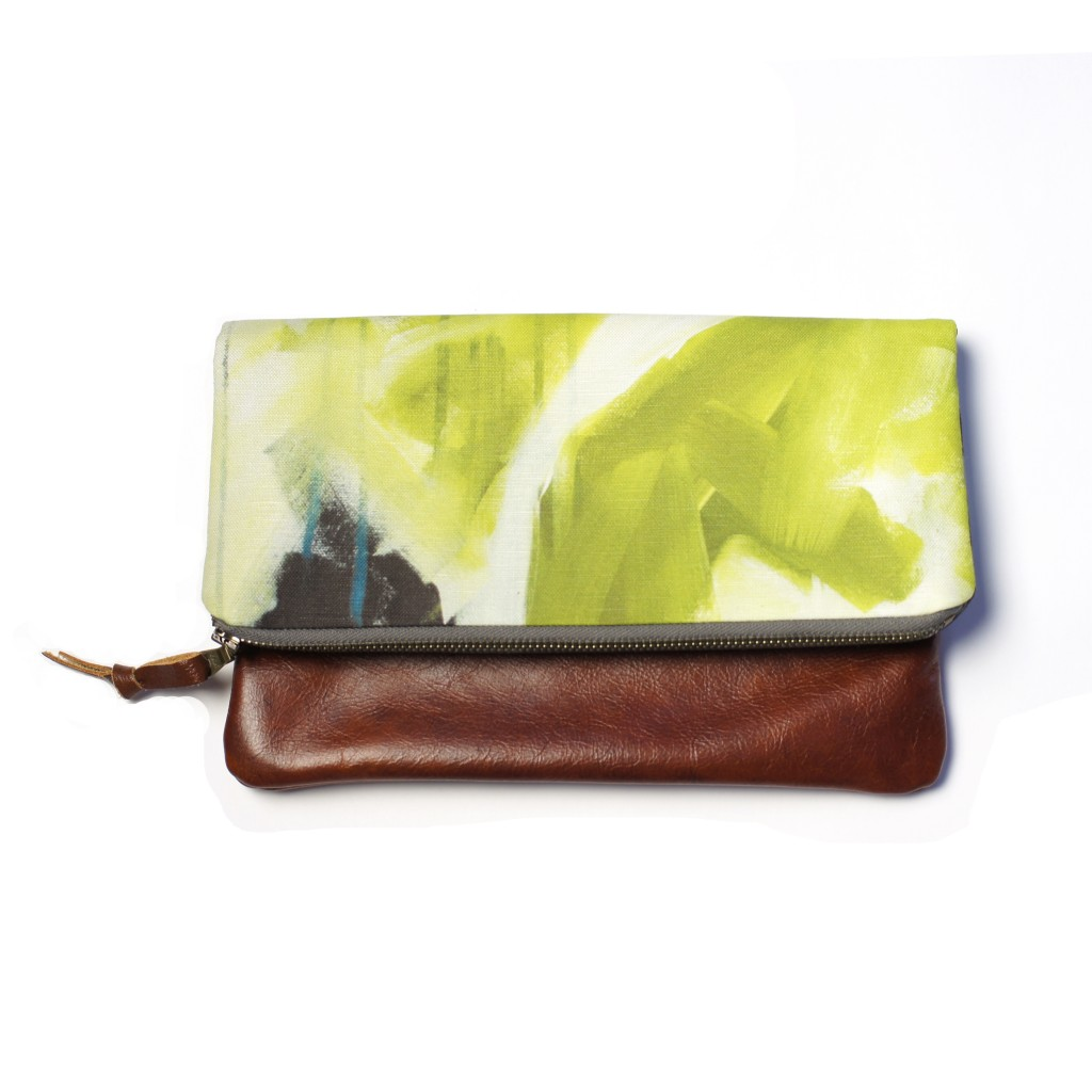 reflections foldover clutch