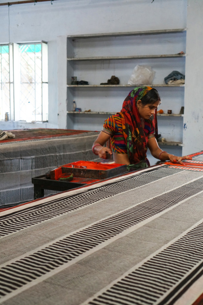 block printing in Bagru, India via megan auman