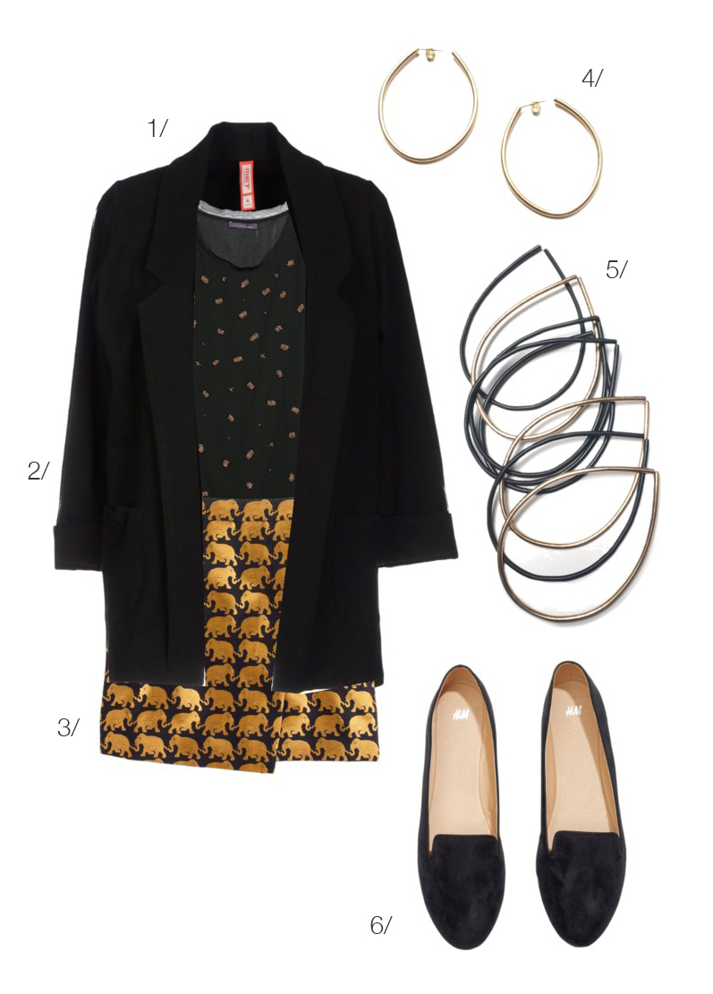a fun and festive outfit perfect for the office holiday party // click for outfit details