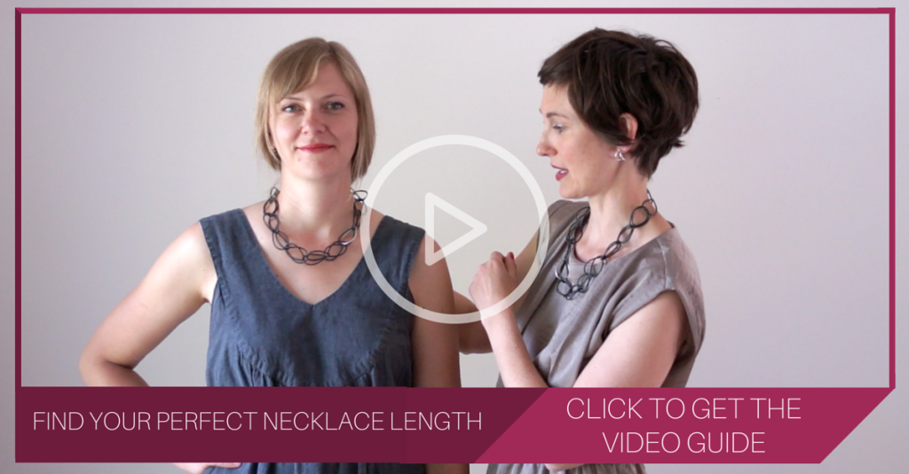 how to find the right necklace length for you