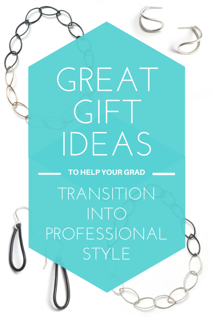 jewelry gift ideas to help a college grad transition into a professional wardrobe