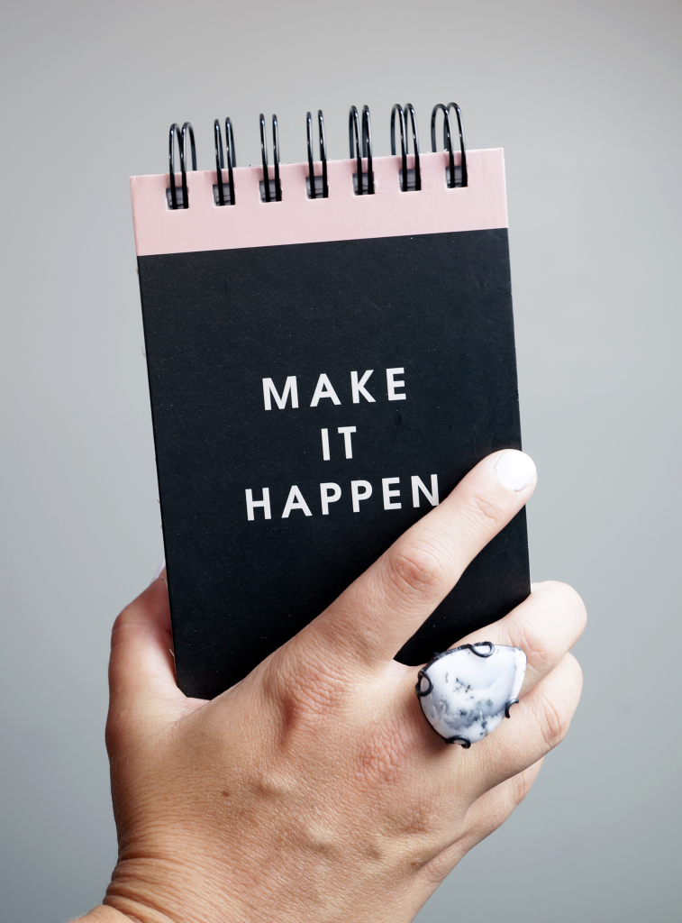 make it happen / a little monday morning motivation via megan auman