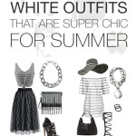 8 black and white outfits that are super chic for summer