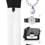 chic, classic, and powerful in black and white for summer