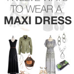 12 ways to wear a maxi dress