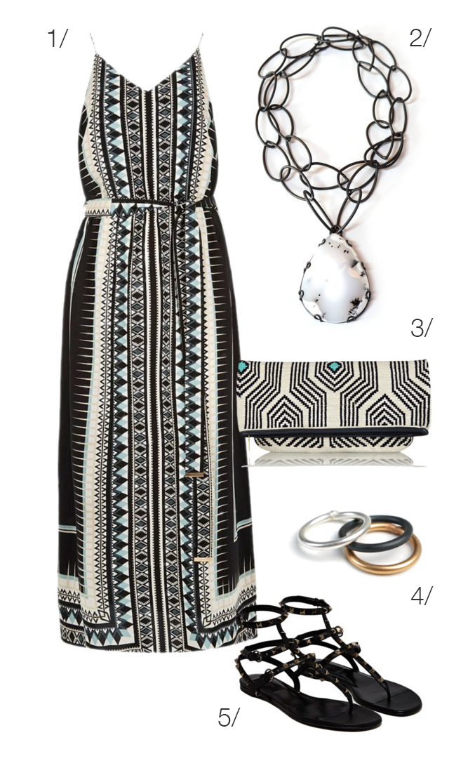 mix prints to the max(i dress) for high impact summer style // click for outfit details