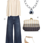 casual summer style: how to wear wide leg jeans