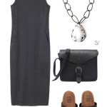 basic (but not boring) maxi dress