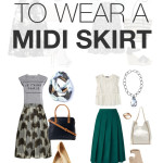 how to wear a midi skirt: 12 outfit ideas to try