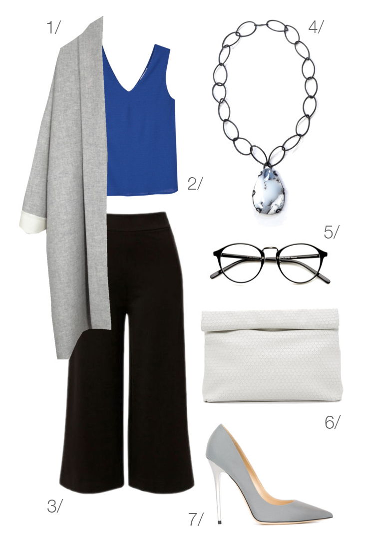 professional outfit: modern and chic office style // click through for details
