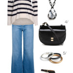 casual style: how to wear flared jeans for fall