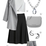 outfit remix: chic in a skirt