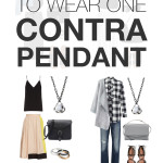 eight ways to wear one contra pendant