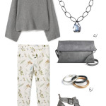 outfit remix: floral pants for fall