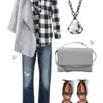 plaid and fancy for fall