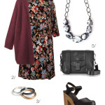floral dress for fall