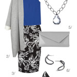 professional style: modern floral print