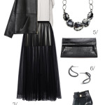 chic and edgy holiday party style