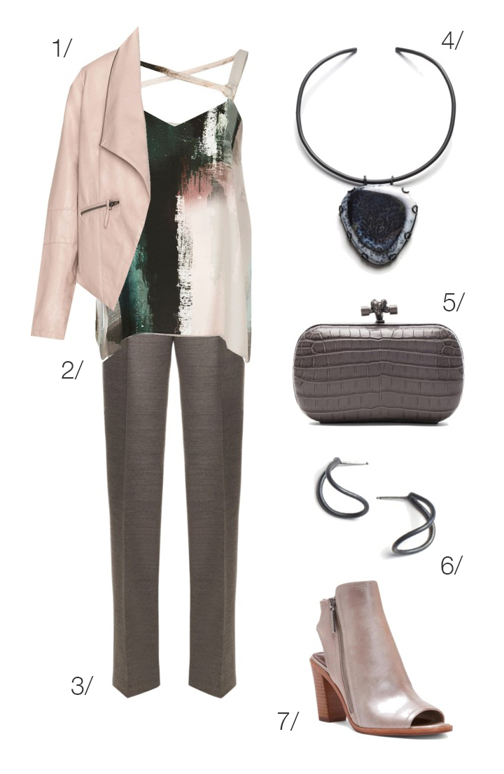 rocker chic work style // click through to shop this outfit