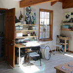 take a tour of my studio (as seen in Where Women Create magazine)