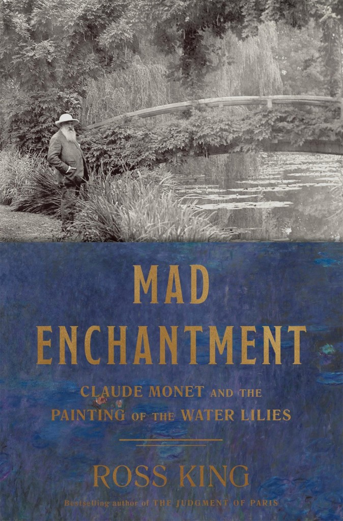 three books on art that are inspiring my studio practice right now: Mad Enchantment: Claude Monet and the Painting of the Water Lilies