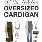 8 ways to wear an oversized cardigan