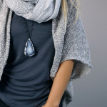 5 necklaces you can layer with a scarf