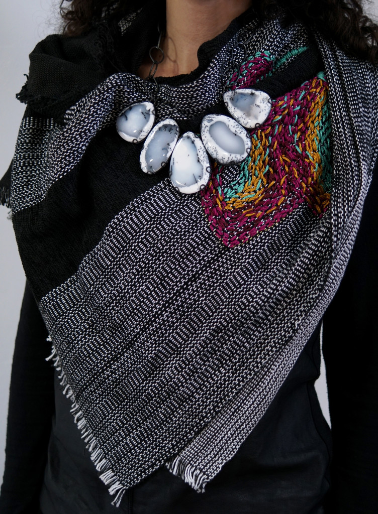 5 necklaces you can layer with a scarf megan auman